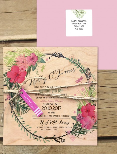 TO THE AISLE AUSTRALIA WEDDING INVITATIONS