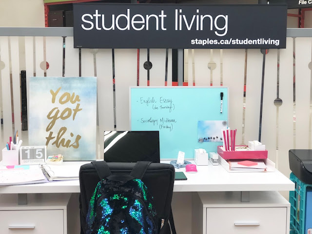 Staples Back to School - Student Living