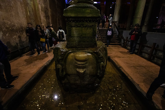 Medusa Basilica cisterna-Istanbul