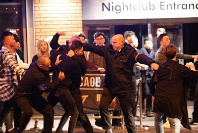 Shocking Pictures Show 3am Brawl Outside Nightclub In Manchester [Photos]