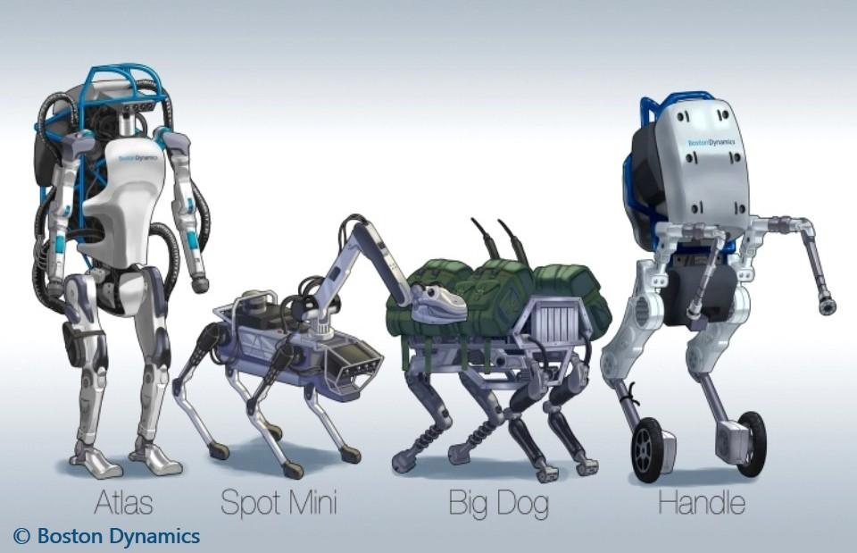 هل تهدد روبوتات بوسطن ديناميكس العالم ؟!