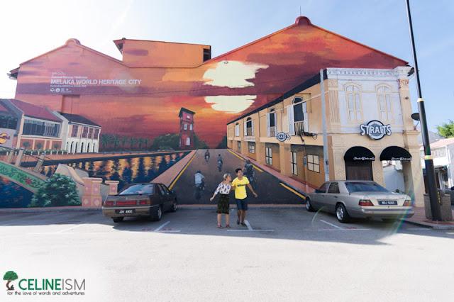 street arts in melaka