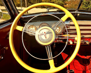 1941 Buick Super 51C Convertible Steering Wheel