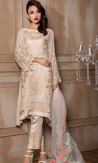 Charizma Diamond Dust Luxury Eid Chiffon Collection 2016-17