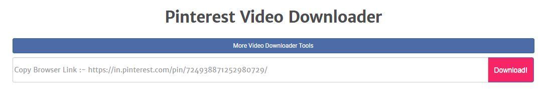 Rekomendasi 2 Cara Mudah Download Video Pinterest Tanpa Aplikasi Di Hp Dan Pc Nuisonk