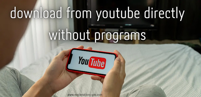 Download from YouTube directly