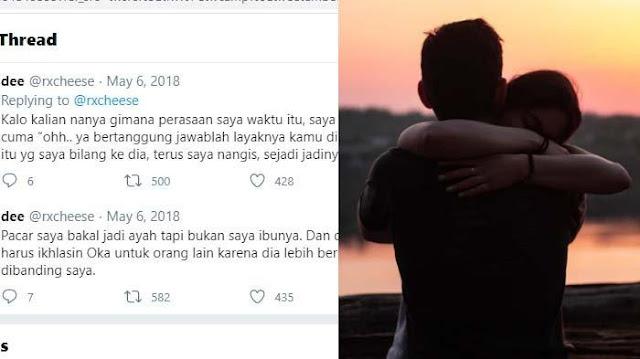 Kisah Pilu Cewek Pacaran 5 Tahun dari SMA Dulu Viral, Syok Tahu Gadis Lain Hamil setelah Lamaran: Oh