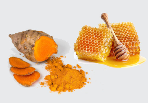 Honey and Turmeric for swollen tonsils
