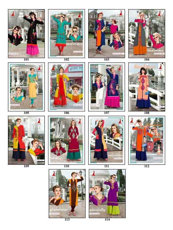 AL HEERA Vol-1 – New Arrival Designer Heavy Reyon Kurti