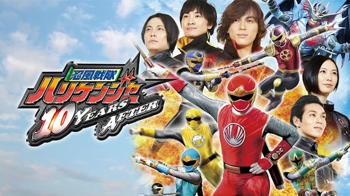 Ninpuu Sentai Hurricaneger: 10 Years After Subtitle Indonesia