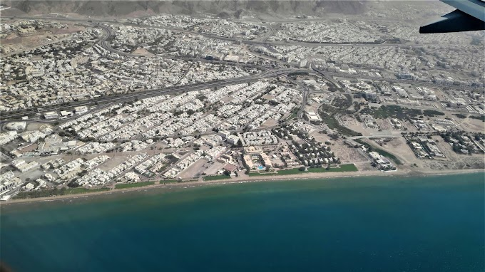 Muscat Aerial View