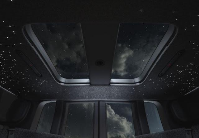 Pemandangan Sunroof mobil ZOOX