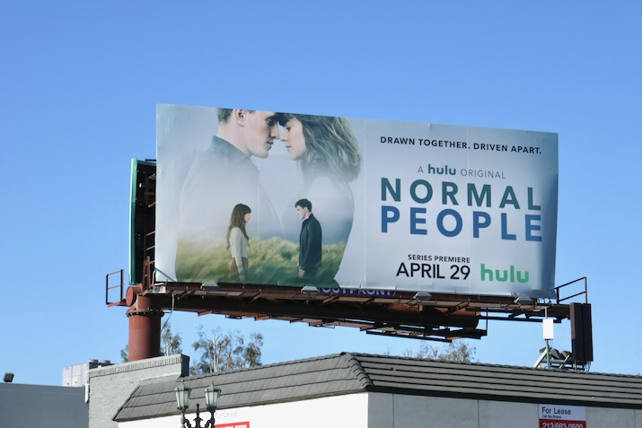 Normal People Hulu series billboard
