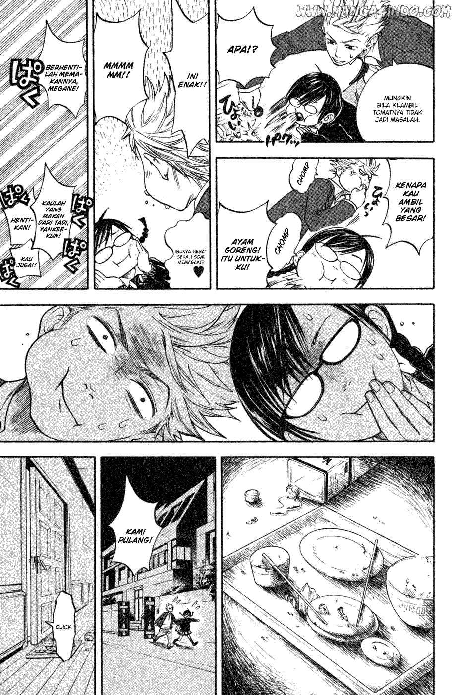Yankee-kun to Megane-chan Chapter 03-35