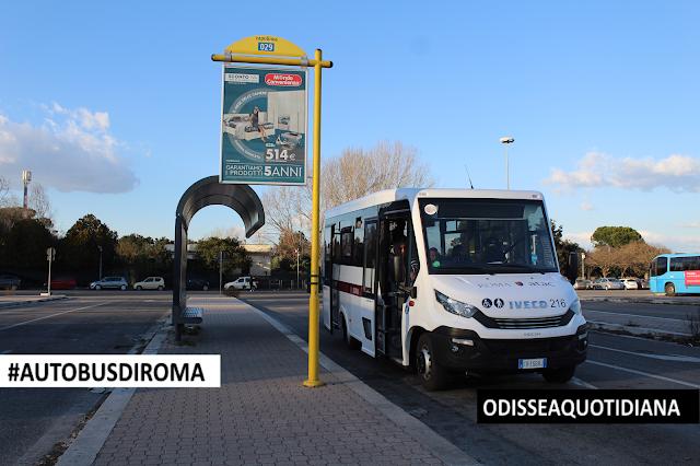 #AutobusDiRoma - Iveco-Indicar Mobi, le nuove vetture corte di Atac