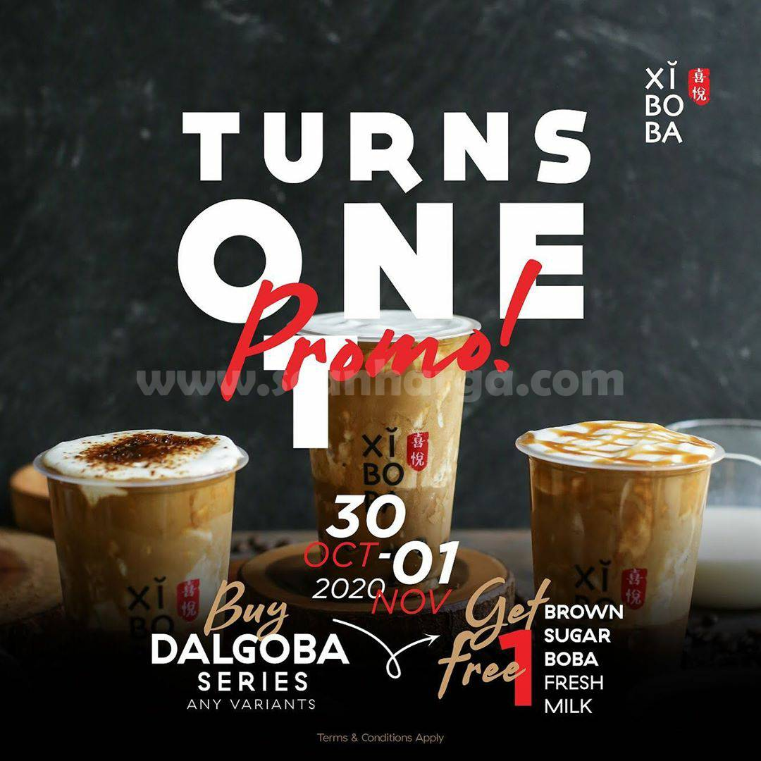 Xiboba Promo Special TURNS ONE 1st Anniversary*