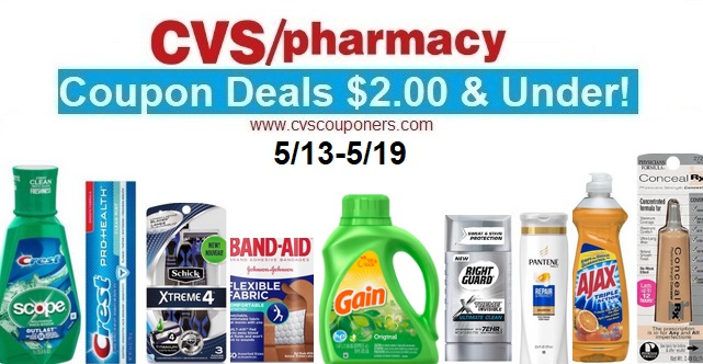 http://www.cvscouponers.com/2018/05/cvs-coupon-deals-200-under-513-519.html