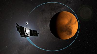 Atomi di metallo dentro atmosfera marziana: scoperta della sonda Maven