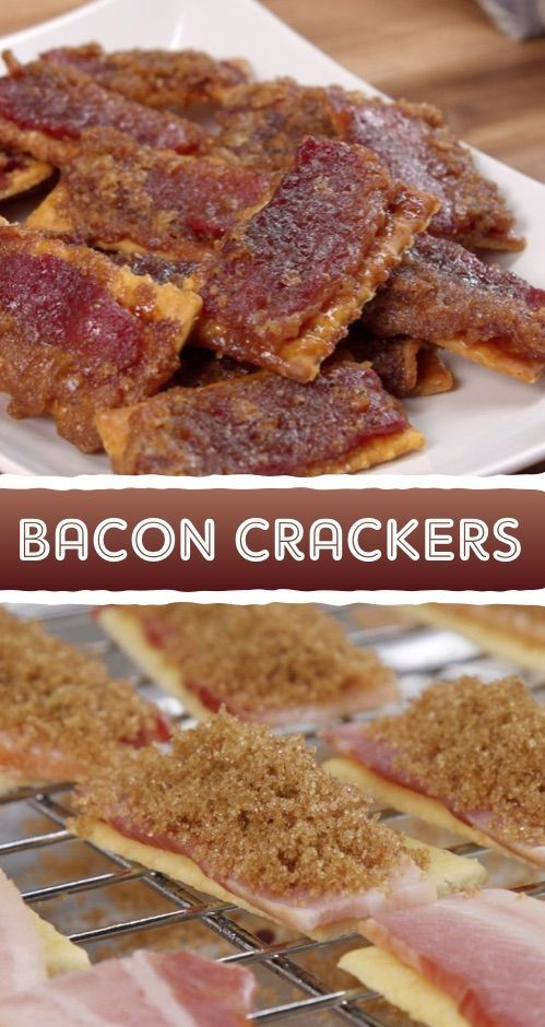 There's something kind of nostalgic about party bites like these (especially if you lay them out daintily on a tray like a '50s housewife). But at the same time, this bacon crackers recipe is so novel that it's guaranteed to become a conversation starter–until everyone can't talk because their mouths are stuffed with bacon crackers. These are tailgating food at its finest. But don't wait for a gathering to make them, because they'd also be delicious with a cobb salad or soup.