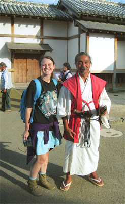 Japanese Historical Reenactor and friend
