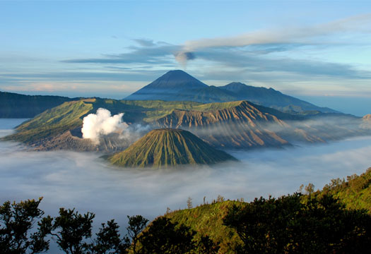 Mount Bromo And Amazing Scenery Beautiful Place In The World