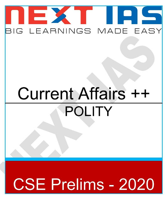 Polity Current Affairs : For IAS Exam PDF Book