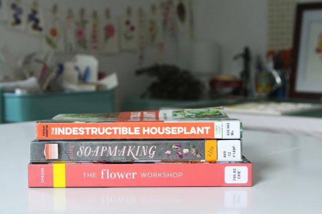 books, inspiration, studio, Anne Butera, My Giant Strawberry