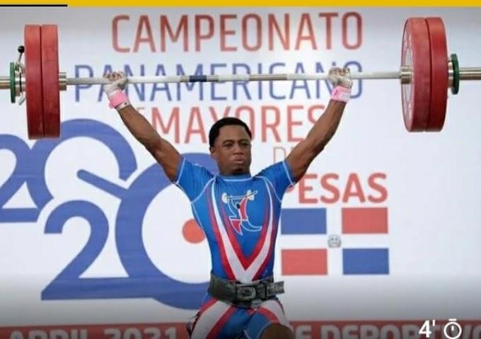 Dominicano Yeison Michel muestra credenciales, gana oro, plata y bronce en Panam Pesas