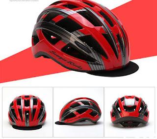 Helm sepeda topi