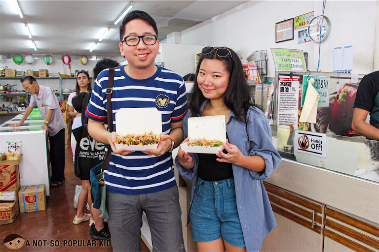 Renz Cheng and Nica Ang in New Hatchin, Cartimar for Takoyaki