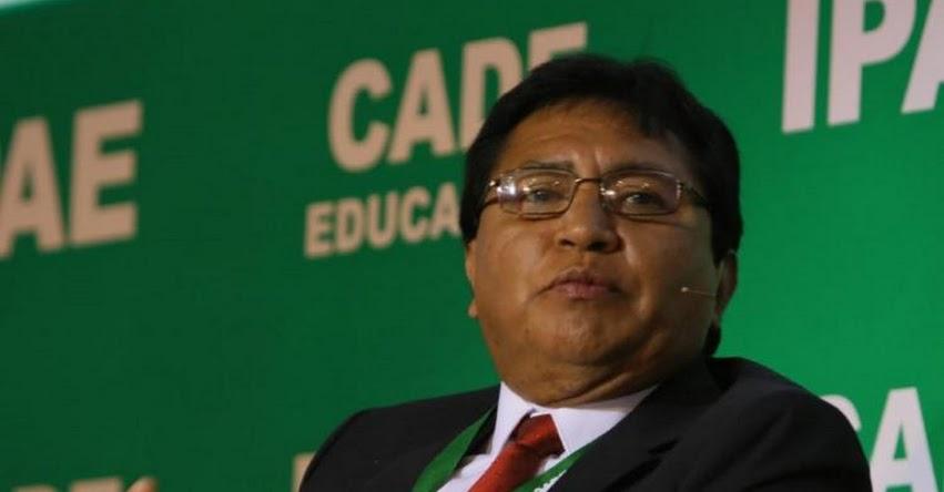 SUTEP: Nueva dirigencia buscará evitar divisionismo en el magisterio, anunció Lucio Castro Chipana, secretario general del Comité Ejecutivo Nacional