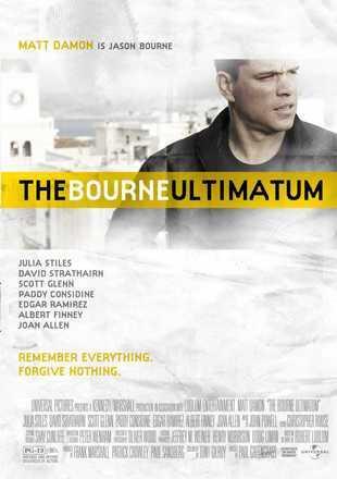 The Bourne Ultimatum 2007 BRRip 720p Dual Audio In Hindi English