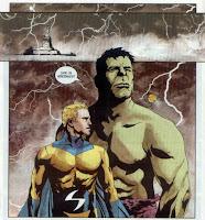 Sentry hulk classico marvel oldie nerd sentry sentinela paul jenkins jae lee arte