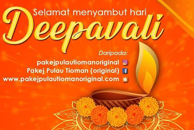 Wan Pulau Tioman ucap Selamat Hari Deepavali
