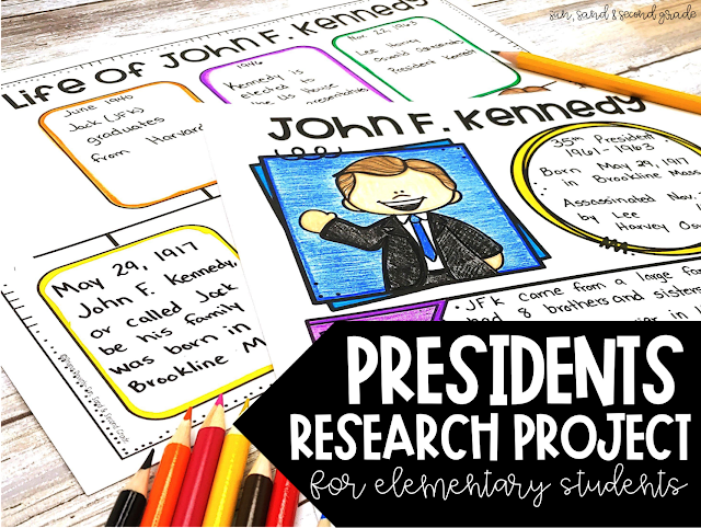 Presidents research project