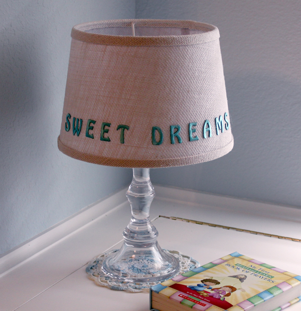 sweet dreams night light candle lamp
