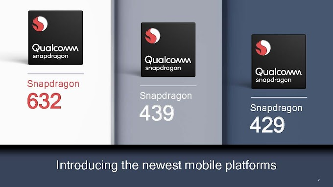 Qualcomm Snapdragon Officially Launched Snap 632, 439, 429 Mobile Processor