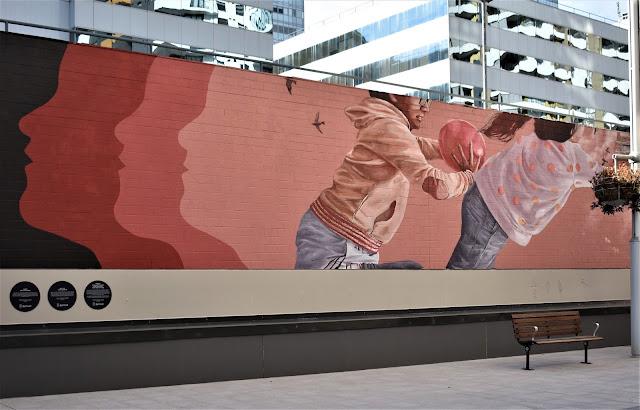 Burwood Street Art   Murals by Fintan Magee