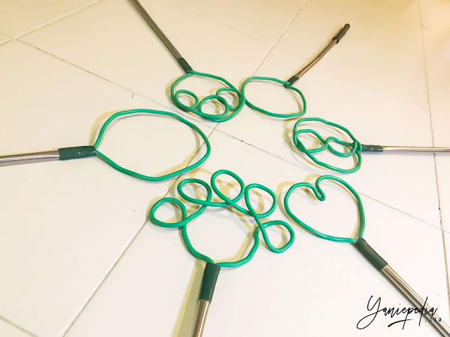 kayu buih bubble wand diy tutorial cara