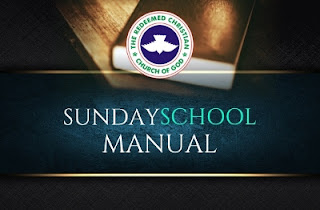 RCCG Sunday School Teacher's Manual 12th November 2017 Lesson 11