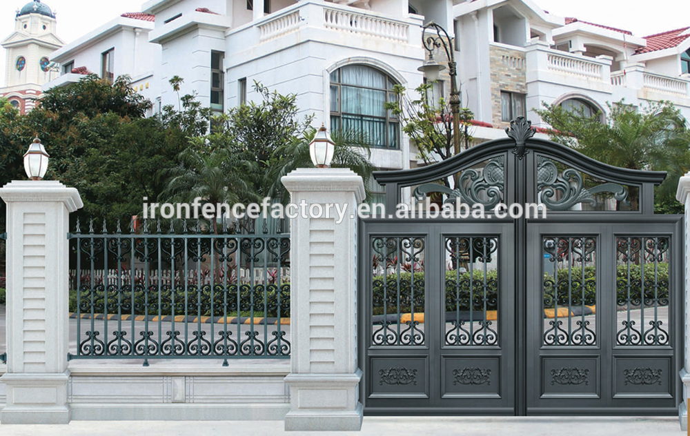 Different kinds of home gates designs bahay ofw for Small house gate design