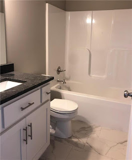 how to add character to a basic bathroom