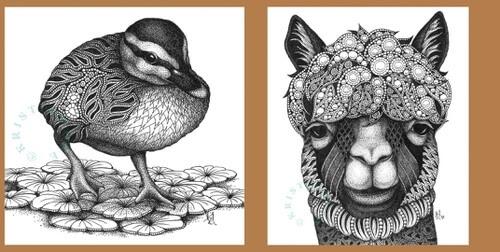 00-Zentangle-Animals-Kristin-Moger-www-designstack-co