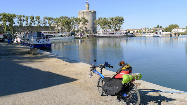 De Paris à Narbonne en vélo, Aigues-Mortes