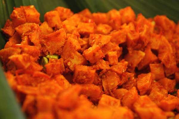 Tempe ialah kuliner yummy dengan segudang nutrisi dan vitamin untuk kesehatan badan manus Ini Resep Enak Sambal Goreng Kentang Tempe