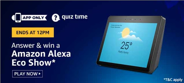 Amazon Quiz Answers Today 23rd June