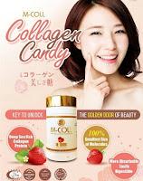 MCOLL collagen & whitening anti aging terbaru!