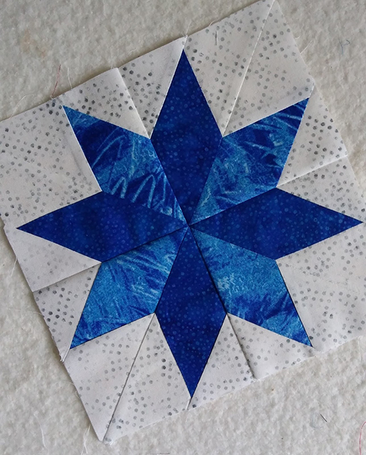 Lemoyne Star Block Quilt Free Pattern