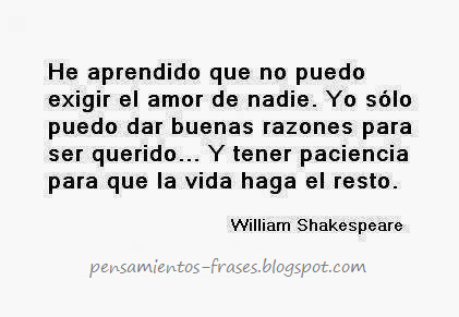 Frasesamor Frases Amor William Shakespeare