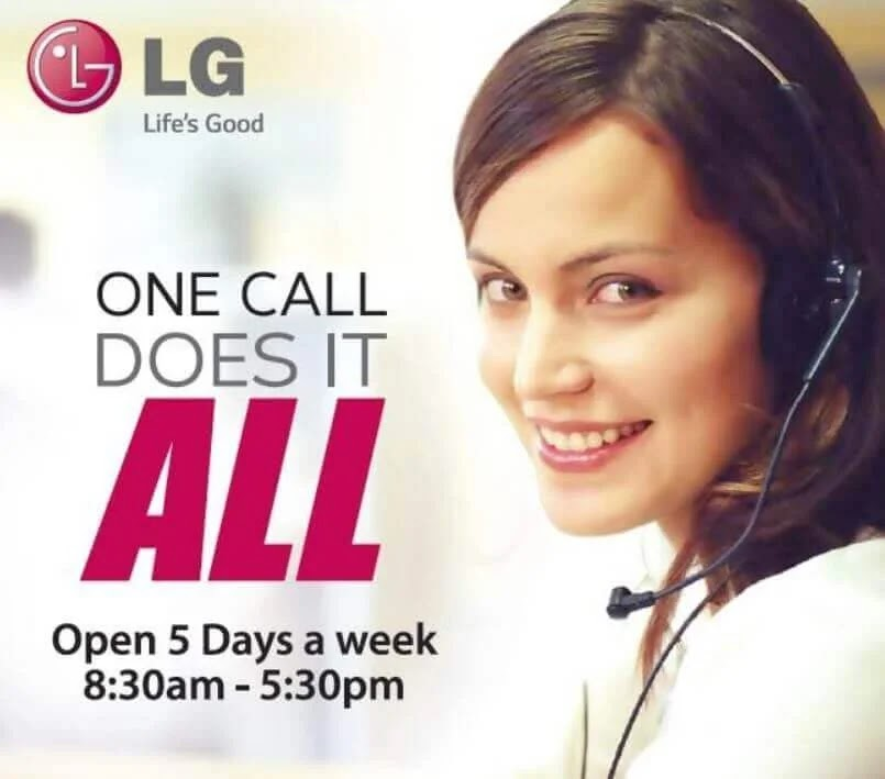 With LG, Customer Satisfaction is a Priority